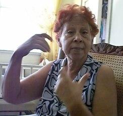 Olga Martínez  Abel de 78 años,  esposa de la víctima  pudo ver claramente que el agresor de su marido no era otro que Yuselín Ferrera Espinosa.