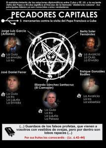 pecadores capitales.