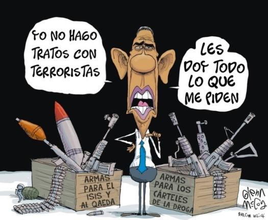 EE.UU. LIDERA LA LUCHA CONTRA EL TERRORISMO Y EL NARCOTRÁFICO