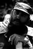 El Primer Ministro Fidel Castro Ruz con motivo de la visita a Cuba de Mengistu Haile Mariam, Presidente del Consejo Administrativo Militar provisional y del Consejo de Ministros de Etiopía, en recorrido por la granjita Siboney.