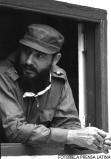 El Primer Ministro Fidel Castro Ruz en Santiago de Cuba durante la visita de Nicolas Ceausescu.