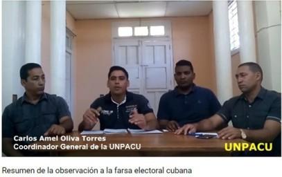 Carlos Amel Oliva Coordinador UNAPCU